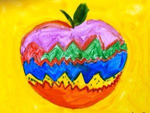 занятия живописью для детей